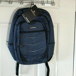 Traveler's Choice Silverwood Blue Large Backpack